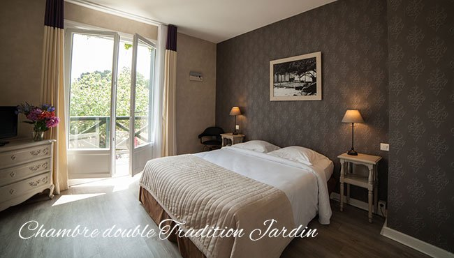 chambre double tradition jardin